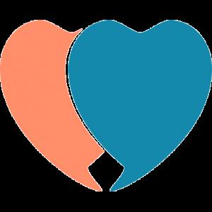סמל אתר לבבות מחוברים